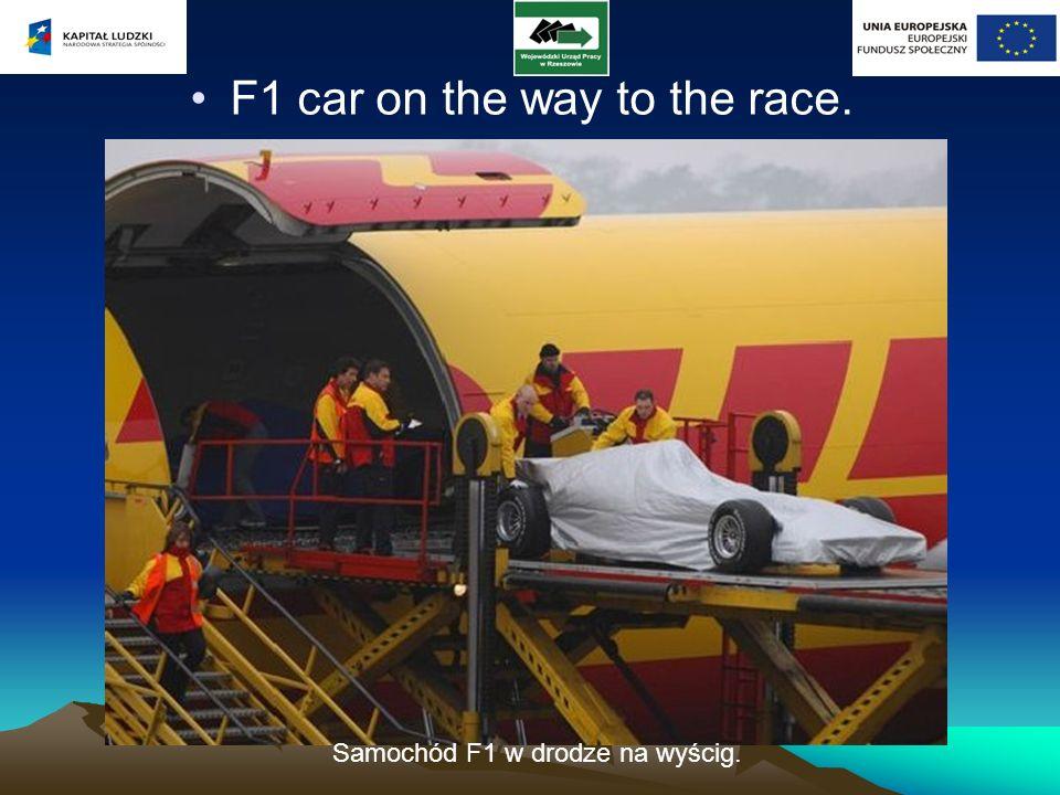 The fleet of Mercedes F1 Team Flota Mercedes F1 Team