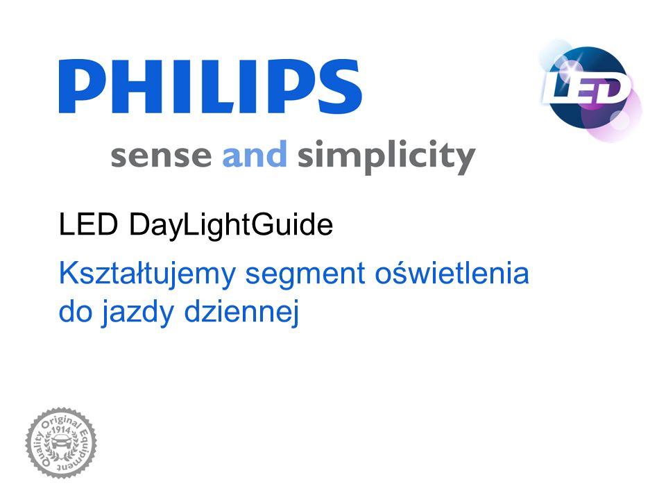 Oświetlenie motoryzacyjne Philips wrzesień 2010 LED DayLightGuide 2