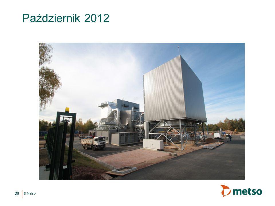 © Metso Październik 2012 20