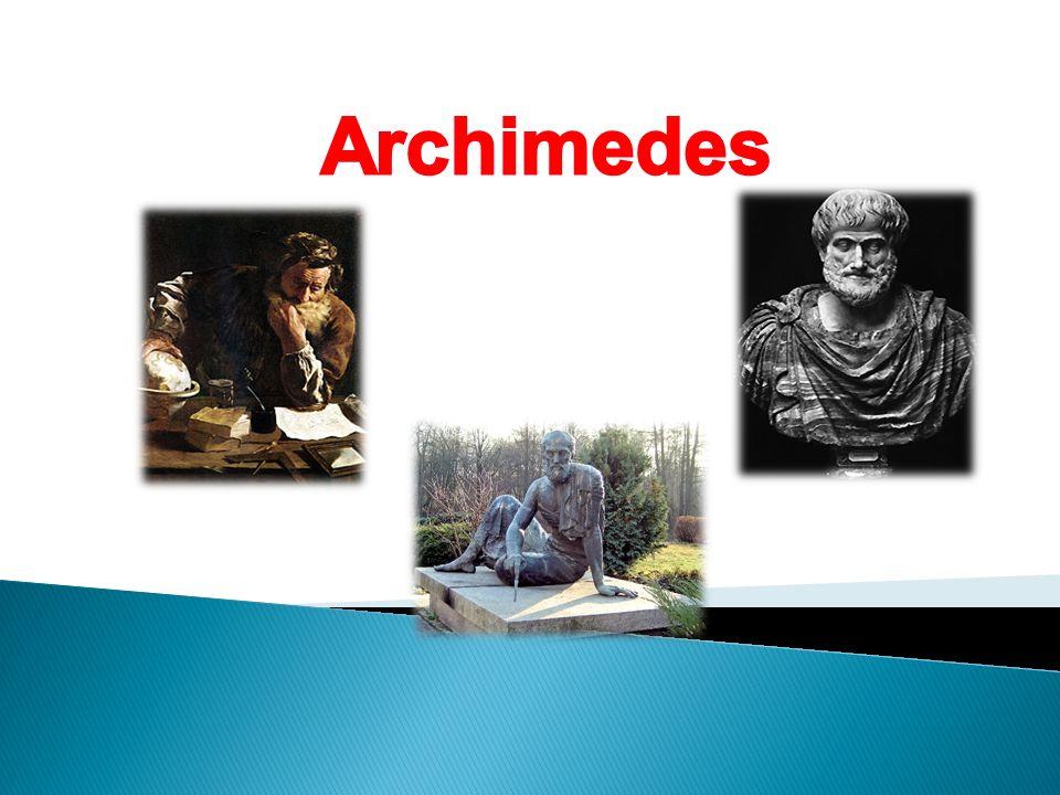 Archimedes przyszedł na świat w 287 roku p.n.e.