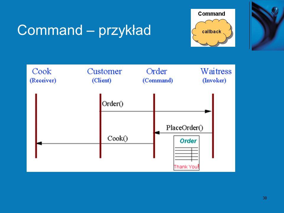 30 Command – przykład