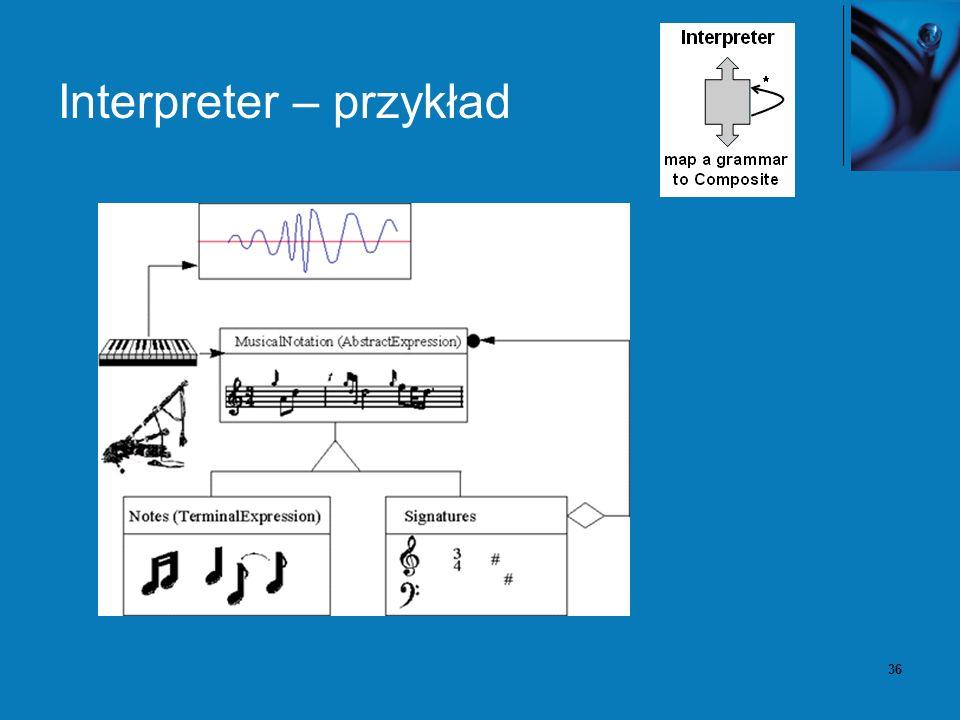 36 Interpreter – przykład
