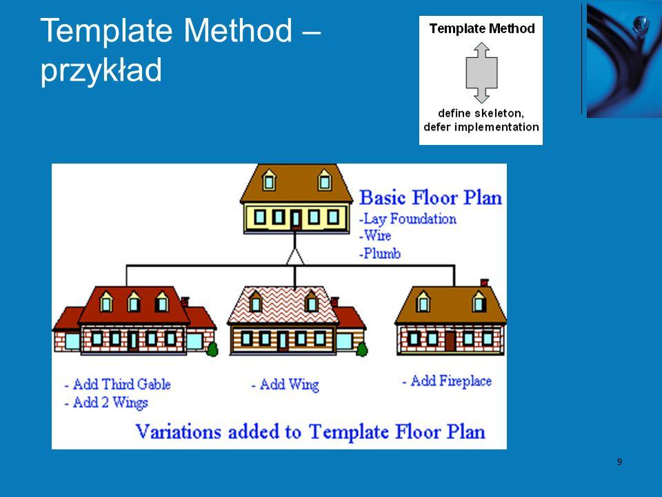 9 Template Method – przykład