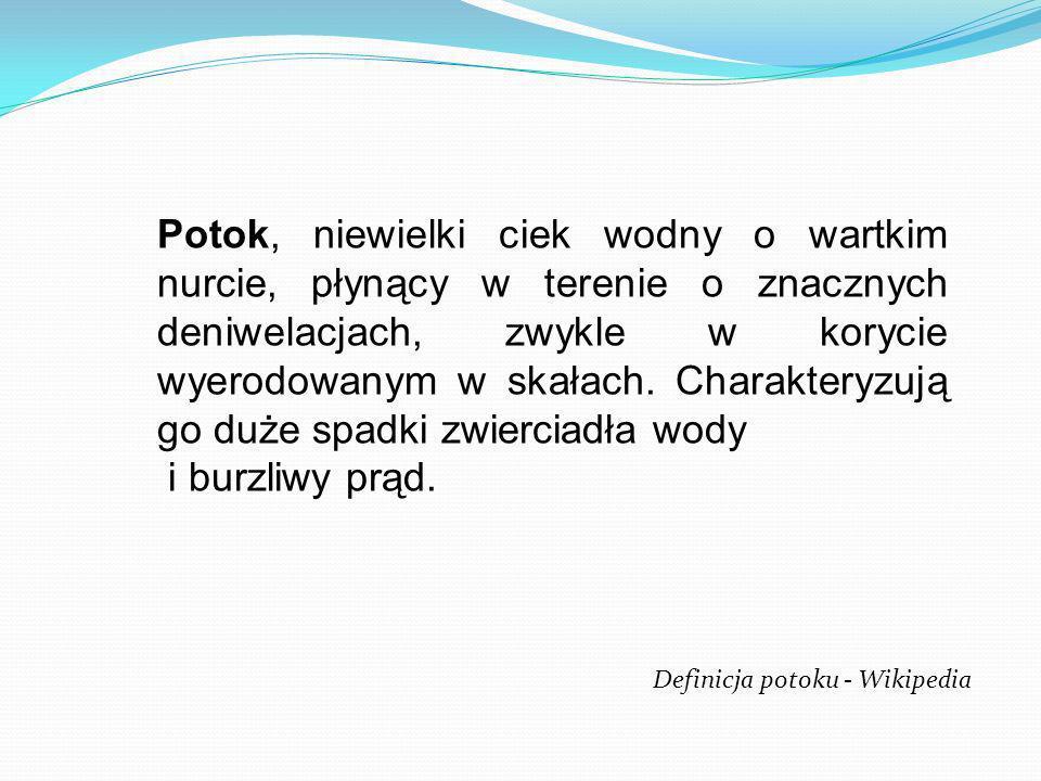 Na terenie Sopotu znajduje się 11 potoków które niegdyś stanowiły atrakcje uzdrowiska Łączna długość sopockich potoków to 21 kilometrów Na potokach znajduje się 17 stawów o powierzchniach 0,03 - 0,04 ha, powstałych przeważnie poprzez spiętrzenie wód strumieni.