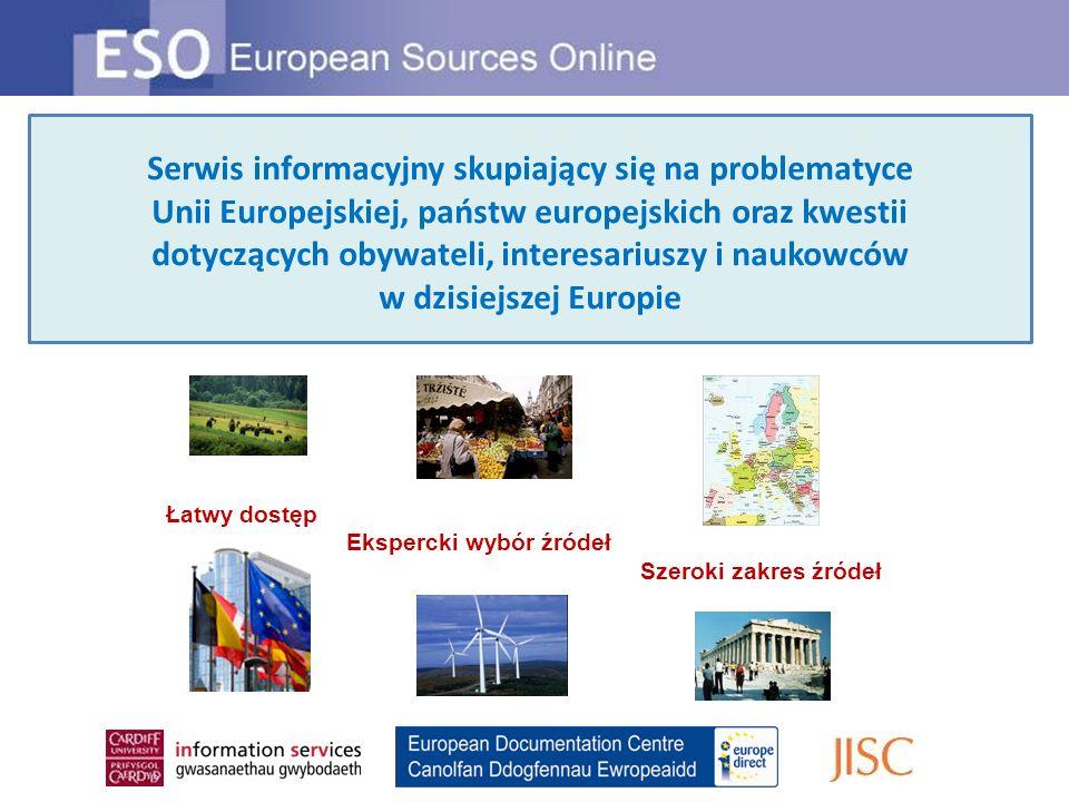 Serwis informacyjny skupiający się na problematyce Unii Europejskiej, państw europejskich oraz kwestii dotyczących obywateli, interesariuszy i naukowc