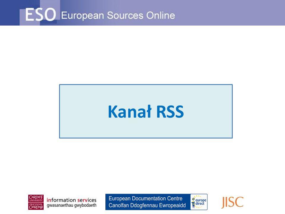 Kanał RSS