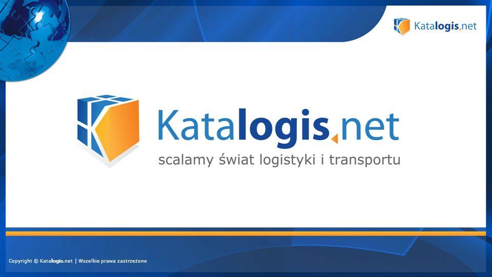 Profesjonalizm i wiarygodność zapewnione przez DGL Polska oraz KMG Media Łatwość obsługi, dzięki intuicyjnej nawigacji i ikonom graficznym Elastyczna oferta, dopasowana do potrzeb każdego klienta Katalogis.net to… Kompleksowy katalog szeroko pojętej branży transportowej i logistycznej Rzetelne, sprawdzone i aktualne informacje o firmach Szerokie, dynamicznie powiększające się grono odbiorców Dwie uzupełniające się wersje – internetowa i drukowana