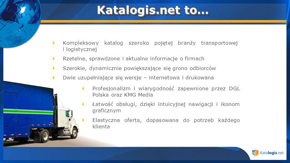 Profesjonalizm i wiarygodność zapewnione przez DGL Polska oraz KMG Media Łatwość obsługi, dzięki intuicyjnej nawigacji i ikonom graficznym Elastyczna