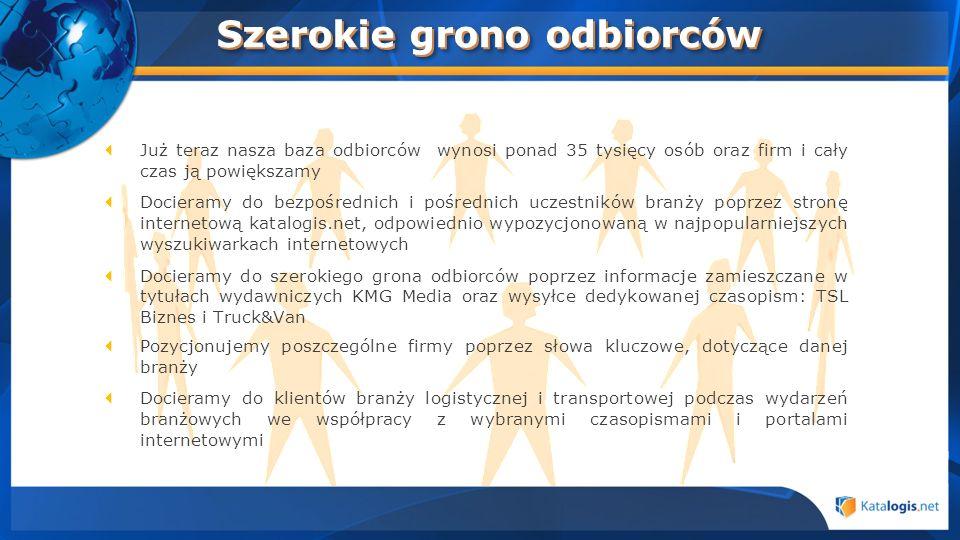 Dołącz do Katalogis.net Sprzedaż i marketing Monika Kulawińska m.kulawinska@katalogis.net tel.
