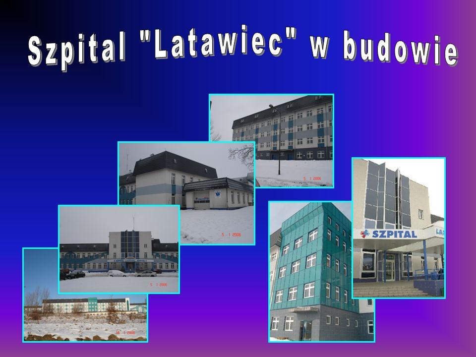 Szpital Latawiec w budowie DANE TECHNICZNE: Powierzchnia terenu 12,23 ha Kubatura budynków 125.227,0 m 3 Powierzchnia użytkowa 33.426,8 m 2 Powierzchnia zabudowy 8.790,0 m 2 DANE TECHNICZNE: Powierzchnia terenu 12,23 ha Kubatura budynków 125.227,0 m 3 Powierzchnia użytkowa 33.426,8 m 2 Powierzchnia zabudowy 8.790,0 m 2 INWESTOR BEZPOŚREDNI: Starostwo Powiatowe w Świdnicy INWESTOR ZASTĘPCZY: Szpital Latawiec w budowie PRZYSZŁY UŻYTKOWNIK: Samodzielny Publiczny Zespół Opieki Zdrowotnej w Świdnicy INWESTOR BEZPOŚREDNI: Starostwo Powiatowe w Świdnicy INWESTOR ZASTĘPCZY: Szpital Latawiec w budowie PRZYSZŁY UŻYTKOWNIK: Samodzielny Publiczny Zespół Opieki Zdrowotnej w Świdnicy