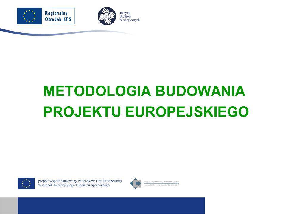 METODOLOGIA BUDOWANIA PROJEKTU EUROPEJSKIEGO