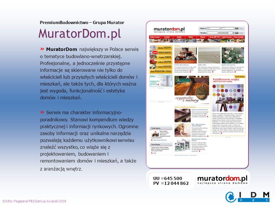 MuratorDom.pl » MuratorDom największy w Polsce serwis o tematyce budowlano-wnetrzarskiej. Profesjonalne, a jednocześnie przystępne informacje są skier