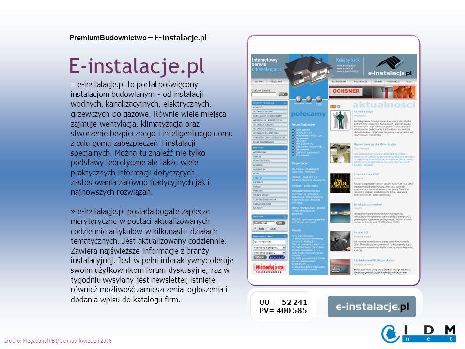 PremiumBudownictwo – E-instalacje.pl E-instalacje.pl » e-instalacje.pl to portal poświęcony instalacjom budowlanym - od instalacji wodnych, kanalizacy