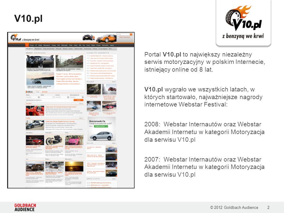2 V10.pl Portal V10.pl to największy niezależny serwis motoryzacyjny w polskim Internecie, istniejący online od 8 lat.