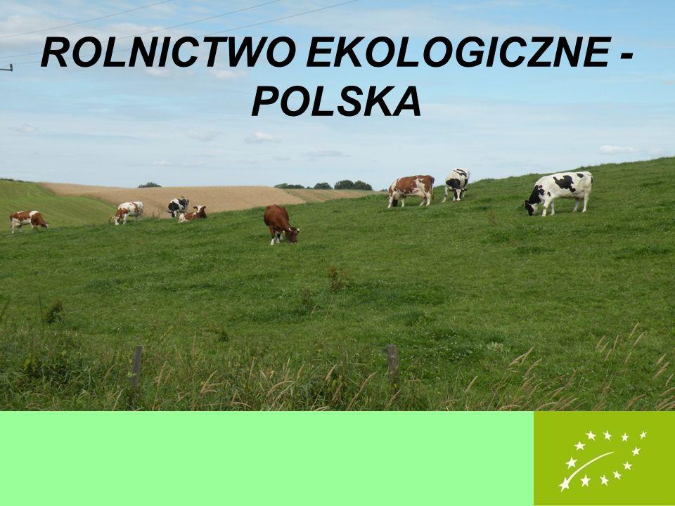 ROLNICTWO EKOLOGICZNE - POLSKA