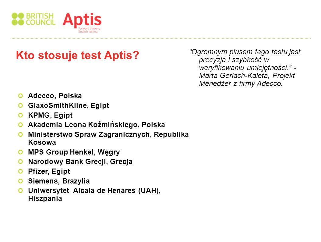 Wybierz Aptis aby skuteczniej i na większą skalę przetestować umiejętności językowe i podnieść standardy posługiwania się językiem angielskim w organizacji www.britishcouncil.org