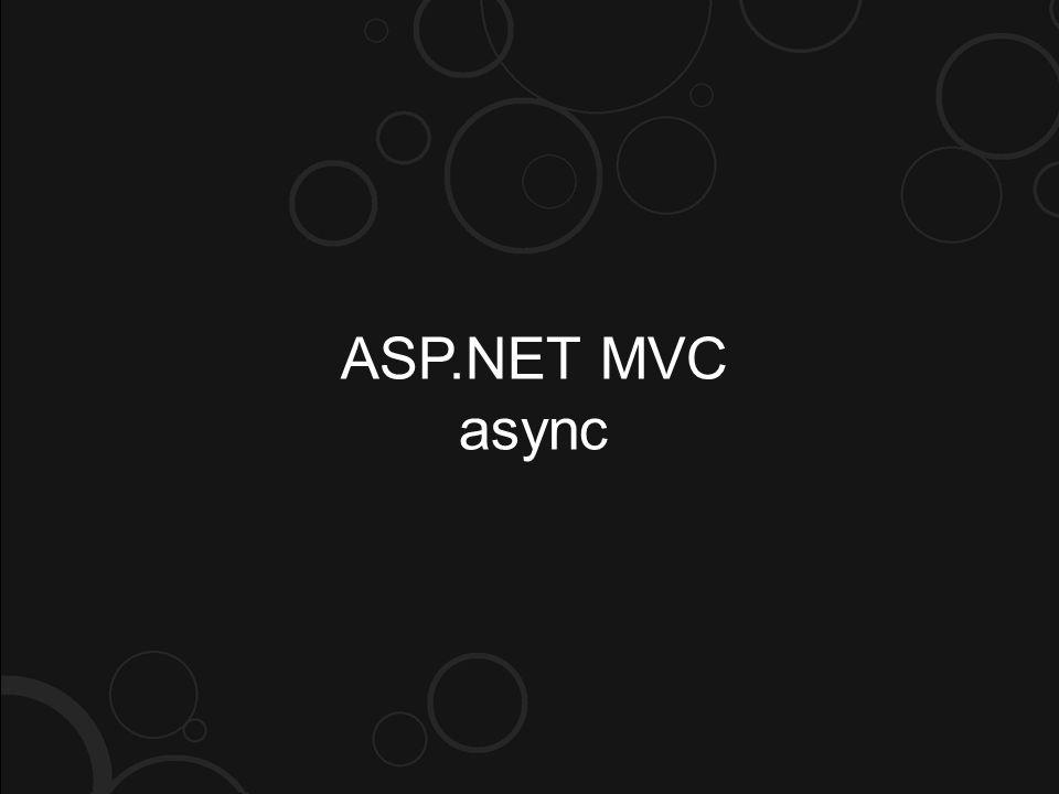 ASP.NET MVC async