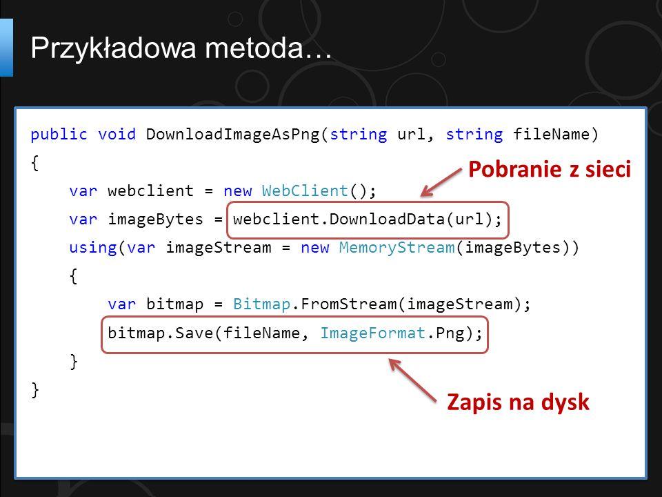 public async void DownloadFile(string url) { try { var webClient = new WebClient(); var data = await webClient.DownloadDataTaskAsync( new Uri(url)); //carry on...