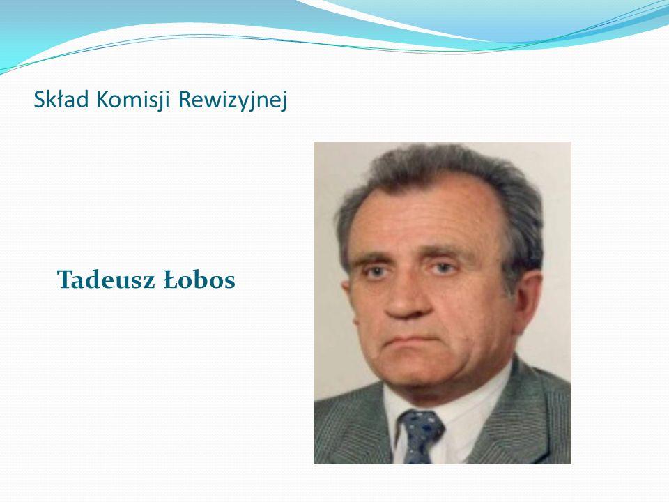 Skład Komisji Rewizyjnej Tadeusz Łobos