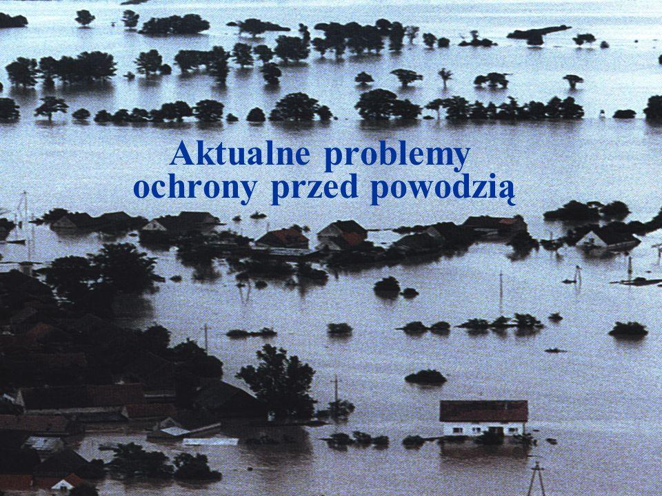 Środki techniczne ochrony czynnej Wielozadaniowe zbiorniki retencyjne Widok zbiornika wodnego w Czorsztynie Redukcja fali wezbraniowej w lipcu 1997 roku