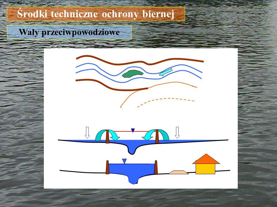 Środki techniczne ochrony biernej Wały przeciwpowodziowe