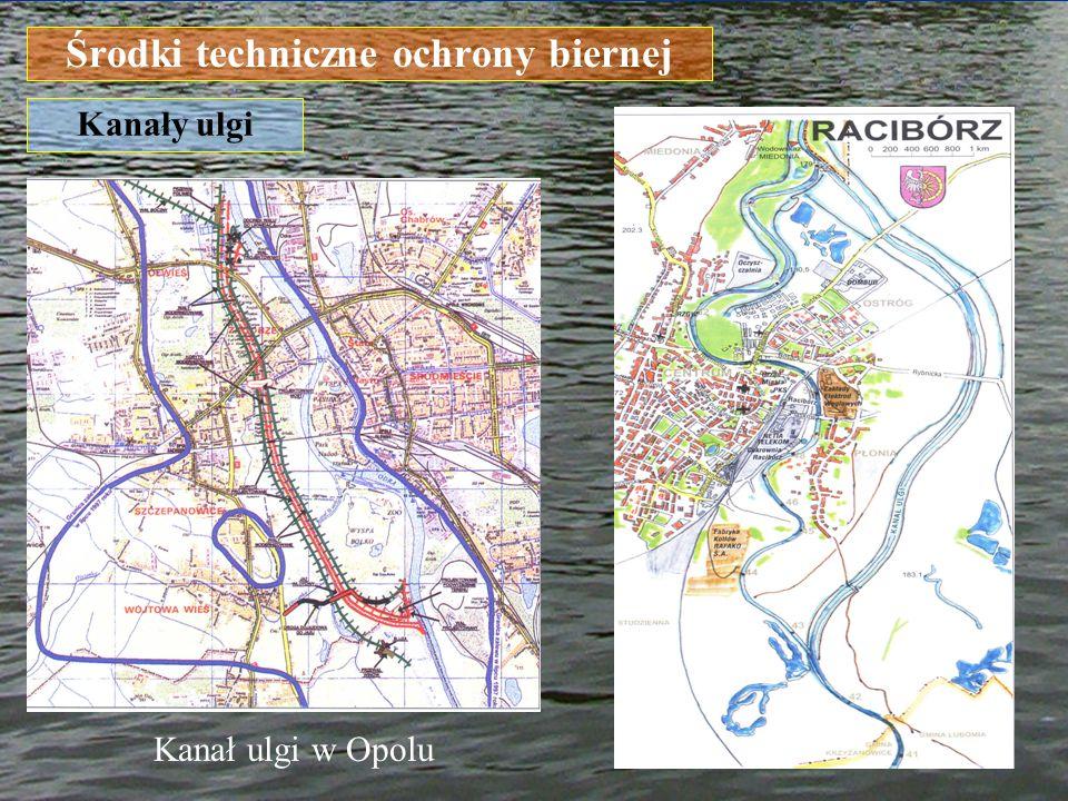 Środki techniczne ochrony biernej Kanały ulgi Kanał ulgi w Opolu