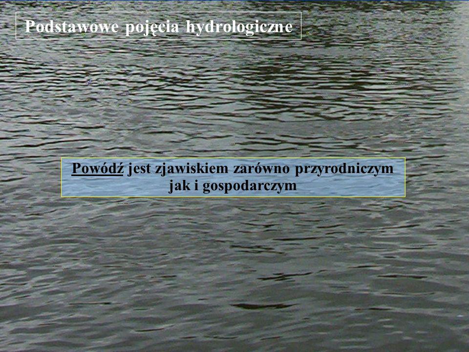 Klasyfikacja powodzi Ze względu na genezę powodzie występujące na obszarze Polski dzielimy na: opadowe – wywołane przez opady: rozlewne, frontalne lub nawalne; roztopowe – związane z gwałtownym topnieniem pokrywy śnieżnej; sztormowe – wywołane silnymi wiatrami na zalewach i wybrzeżu; zimowe – które powstają w wyniku zatorów lodowych lub śryżowych (Kiciński 1982) Powodzie klasyfikujemy ze względu na: przyczyny je wywołujące (genezę powodzi) zasięg terytorialny wielkość