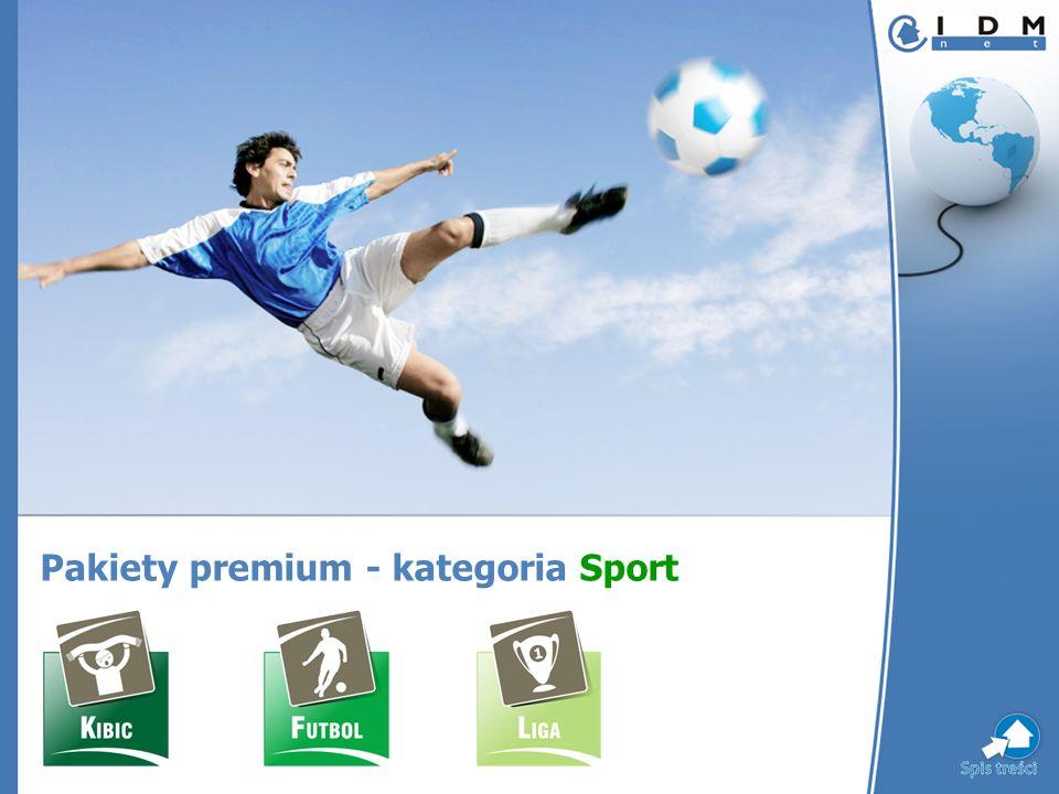 Pakiety premium - kategoria Sport