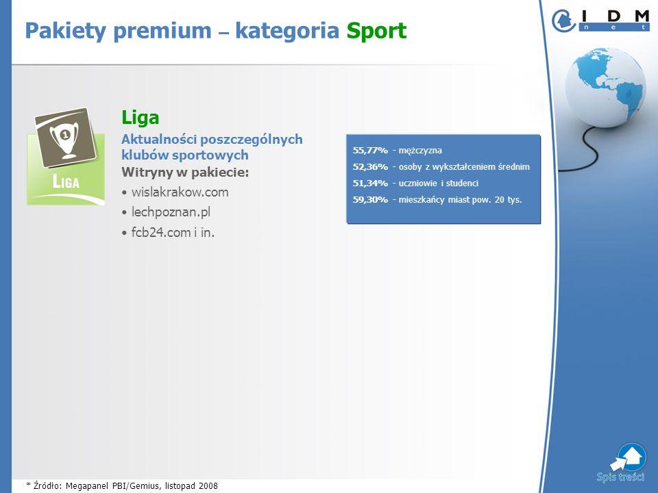 Liga Aktualności poszczególnych klubów sportowych Witryny w pakiecie: wislakrakow.com lechpoznan.pl fcb24.com i in.