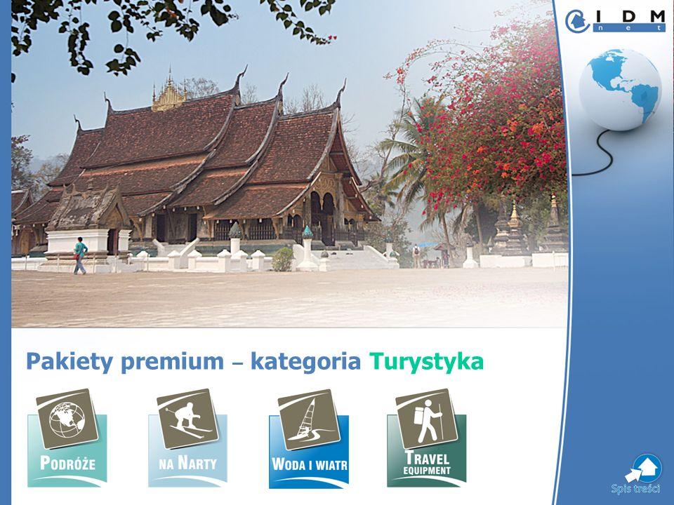 Pakiety premium – kategoria Turystyka