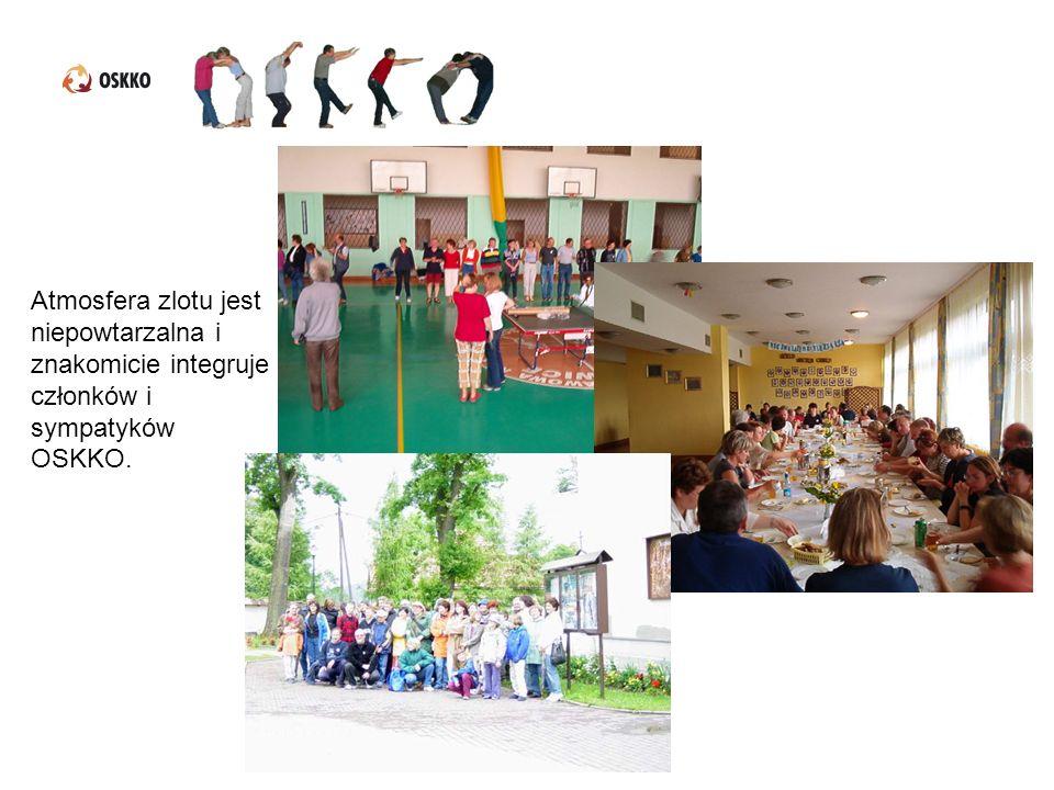 Atmosfera zlotu jest niepowtarzalna i znakomicie integruje członków i sympatyków OSKKO.