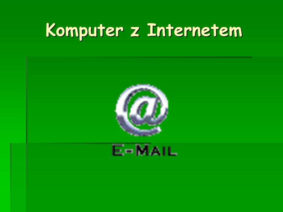 Komputer z Internetem