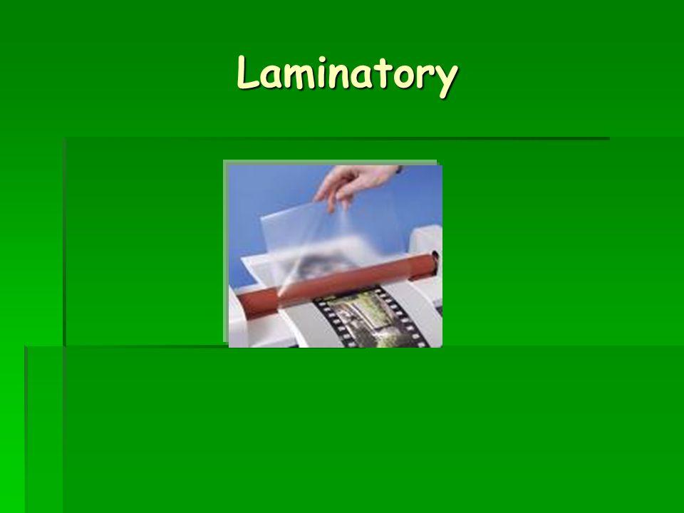 Laminatory