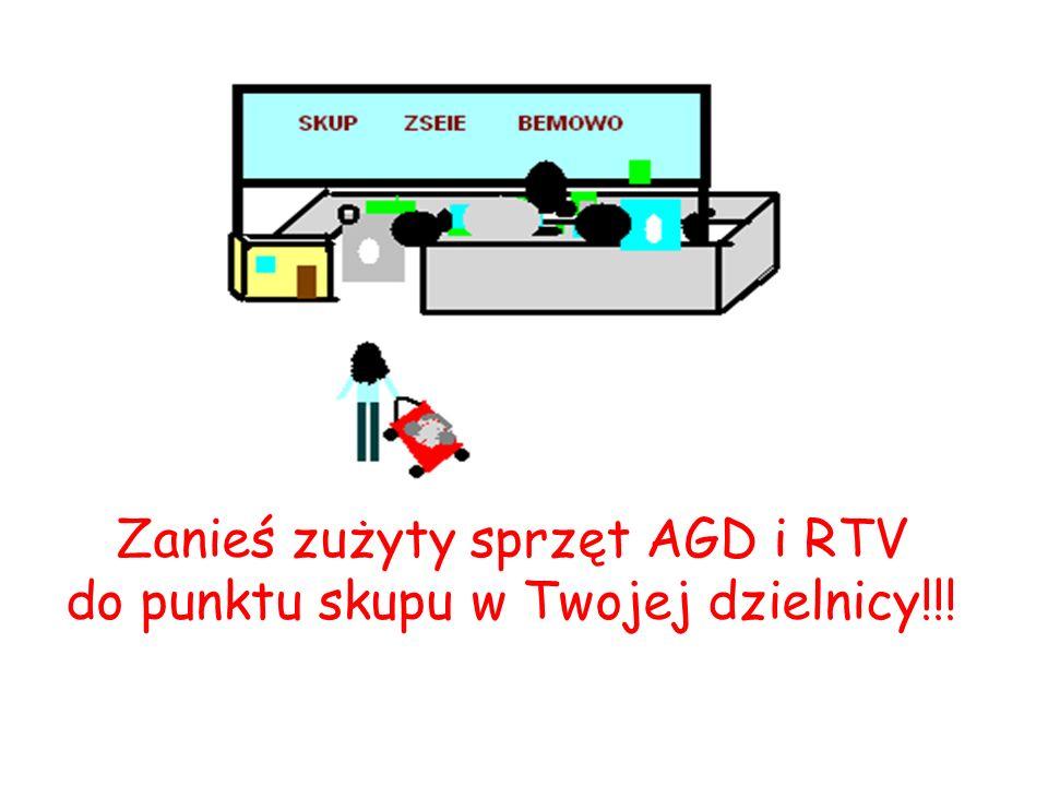 Nie wolno wyrzucać sprzętu elektrycznego i elektronicznego do kosza na śmieci!!! Od października 2005r. obowiązuje ustawa, która pod groźbą grzywny za