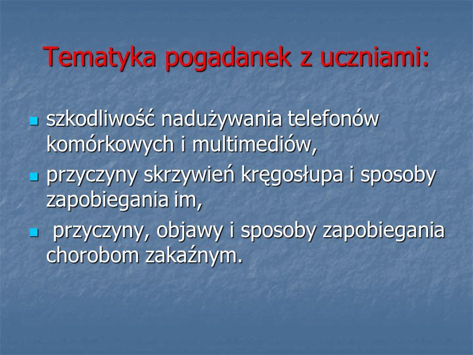 Dzień Zdrowia.- Program dnia.9.50 – 10.50 – Happening uczniów po ulicach Kadzidła.