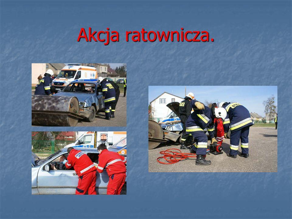 Akcja ratownicza.