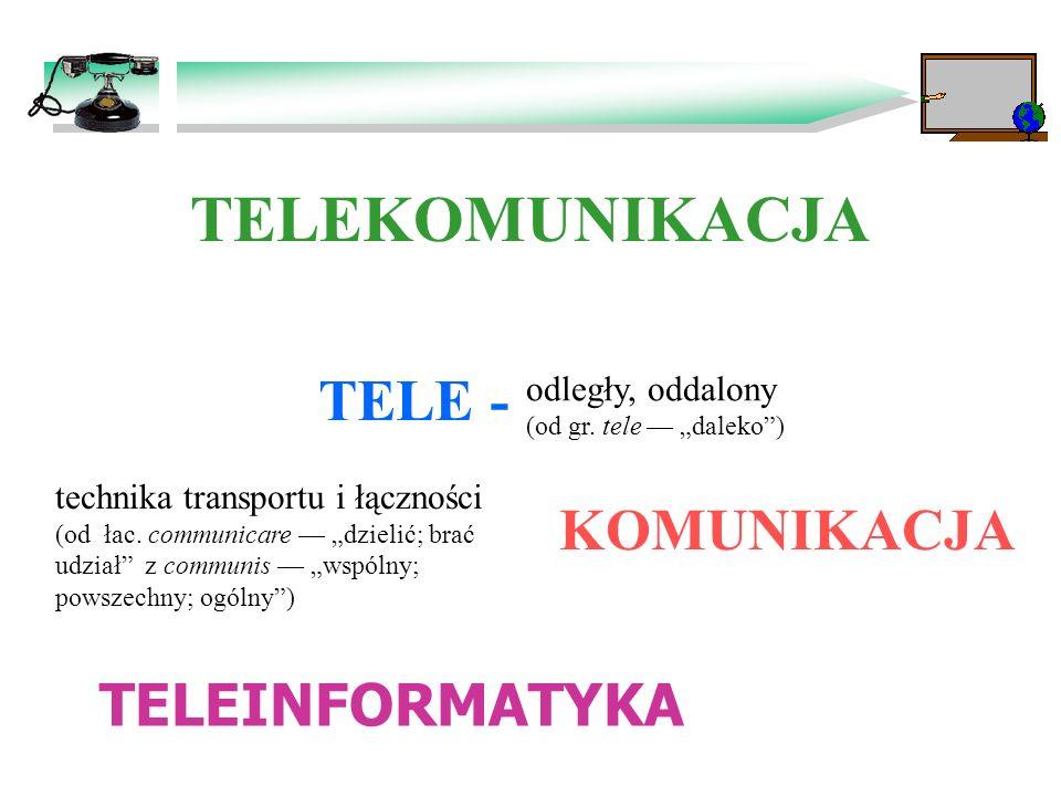 Telekomunikacja i Teleinformatyka