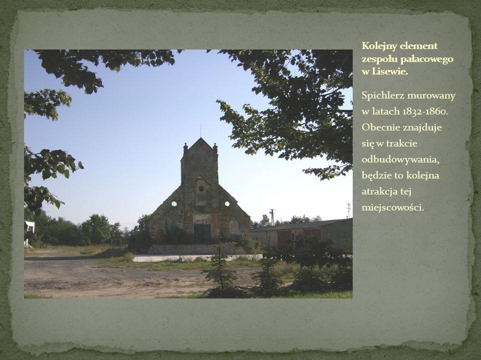Spichlerz murowany w latach 1832-1860. Obecnie znajduje się w trakcie odbudowywania, będzie to kolejna atrakcja tej miejscowości.