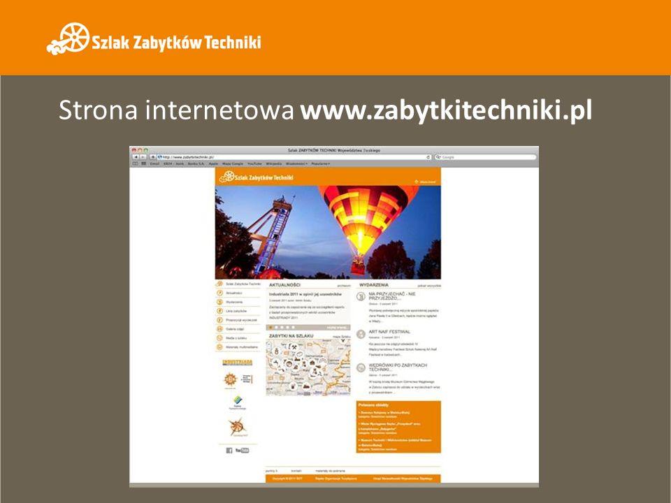 Strona internetowa www.zabytkitechniki.pl