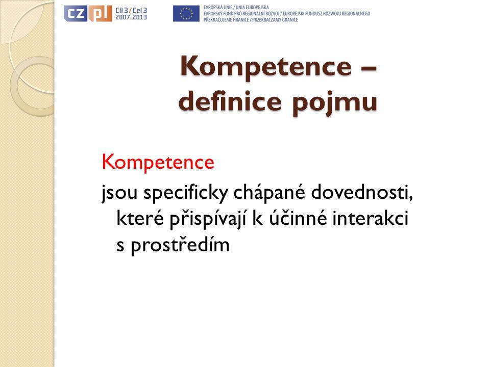 Rodzaje kompetencji Druh kompetencí 6. Zasady etyczne