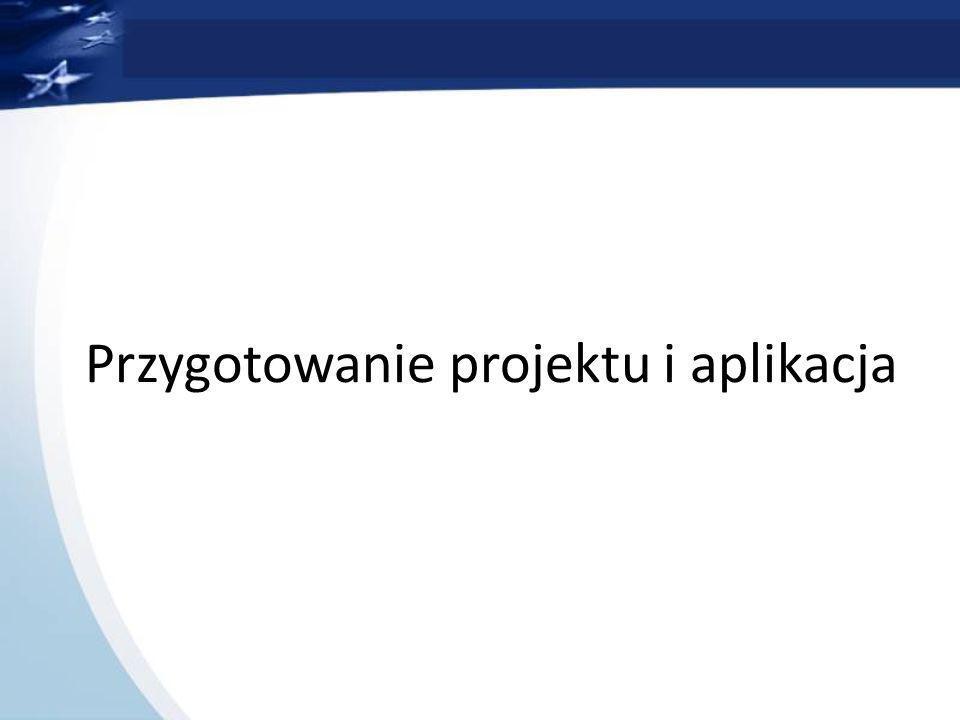 Przygotowanie projektu i aplikacja
