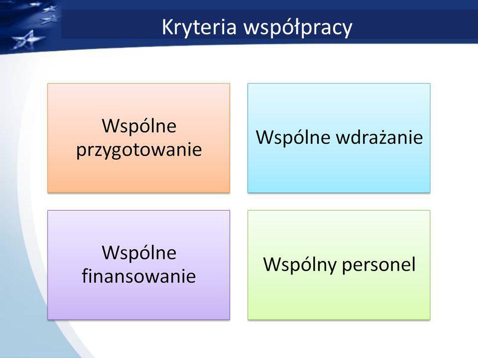 Kryteria współpracy