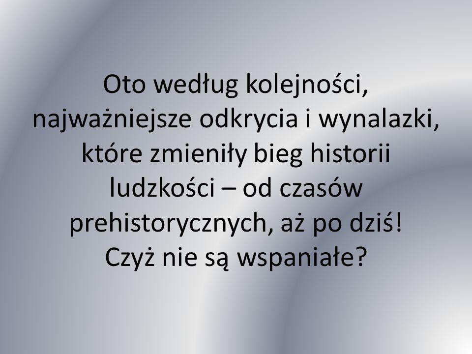 CZASY PREHISTORYCZNE