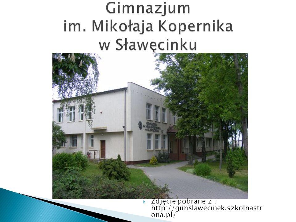 Zdjęcie pobrane z : http://gimslawecinek.szkolnastr ona.pl/