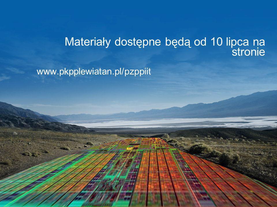Materiały dostępne będą od 10 lipca na stronie www.pkpplewiatan.pl/pzppiit