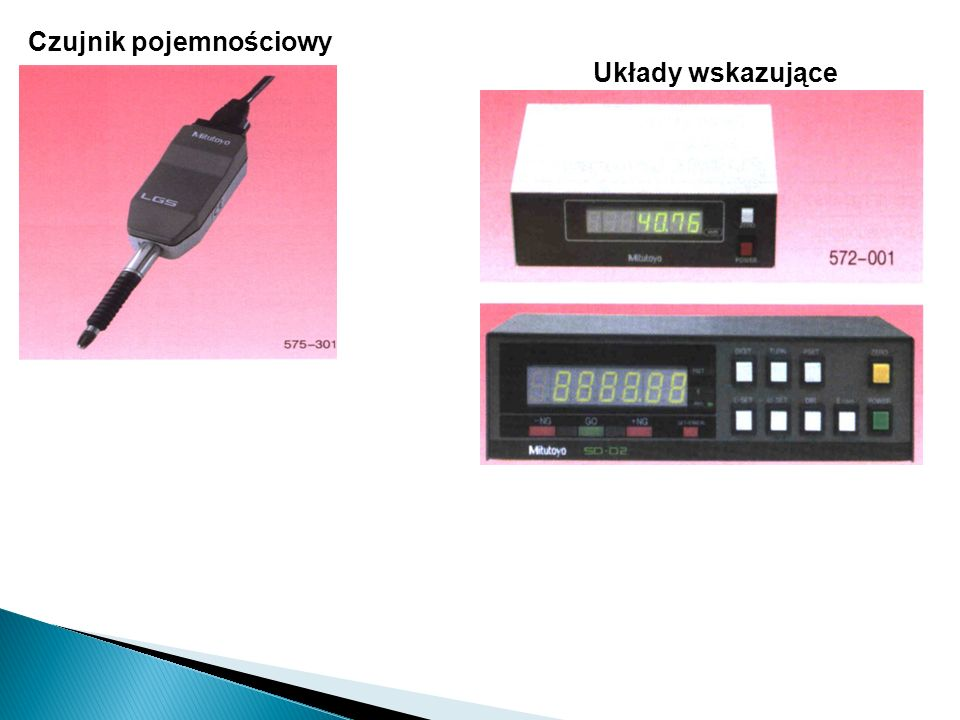 Czujnik indukcyjny Głowice firmy Mahr Głowice firmy Mitutoyo