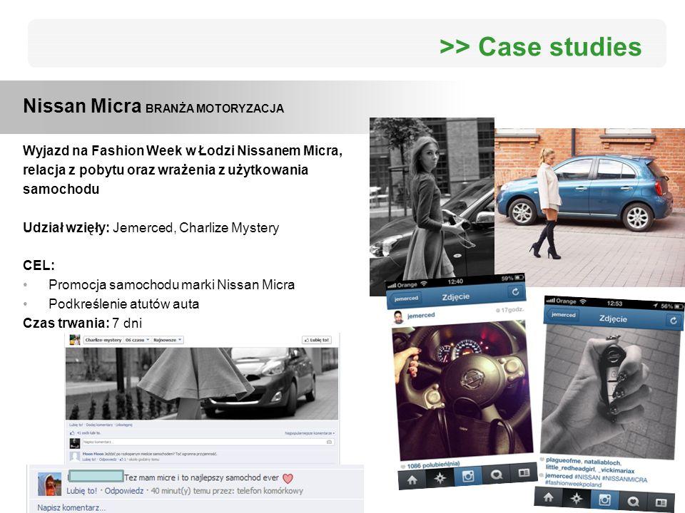 Wyjazd na Fashion Week w Łodzi Nissanem Micra, relacja z pobytu oraz wrażenia z użytkowania samochodu Udział wzięły: Jemerced, Charlize Mystery CEL: P