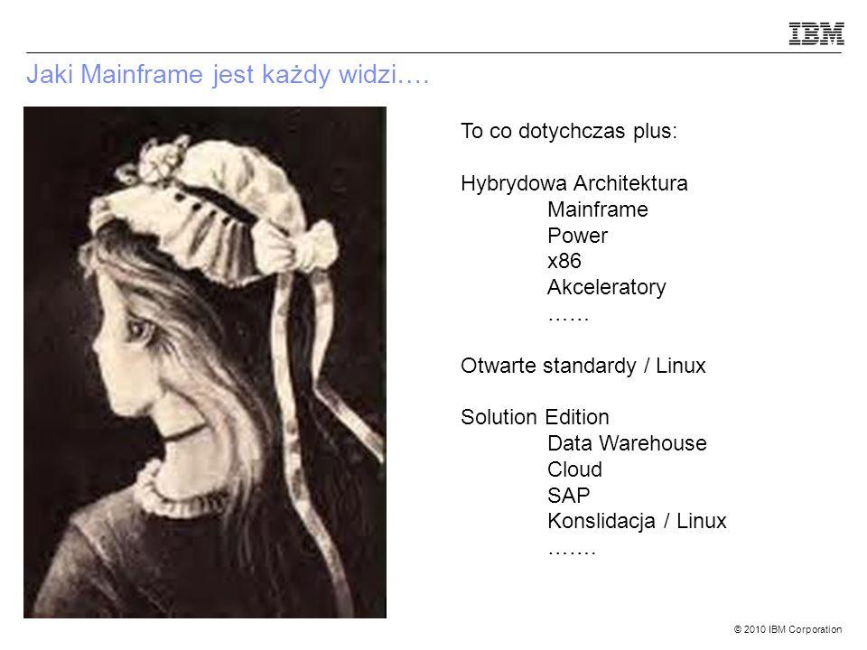 © 2010 IBM Corporation Jaki Mainframe jest każdy widzi….