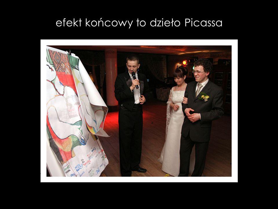 efekt końcowy to dzieło Picassa