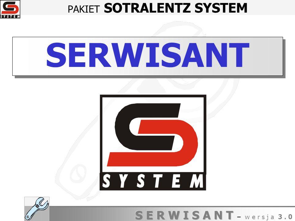 PAKIET SOTRALENTZ SYSTEM SERWISANT